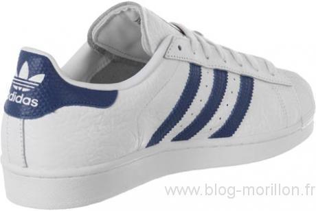 Chaussures Adidas Homme Bleu Également Superstar Style